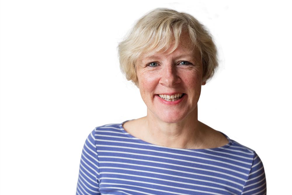 Kursleiterin Gabriele Busch