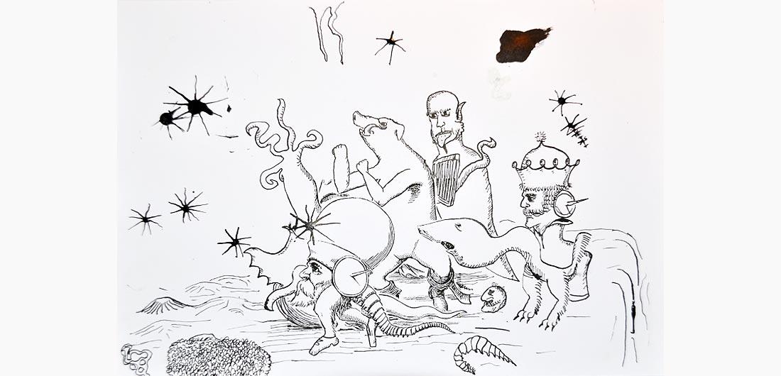 Zeichentusche Einblicke In Die Malschule Für Kinder In Hamburg