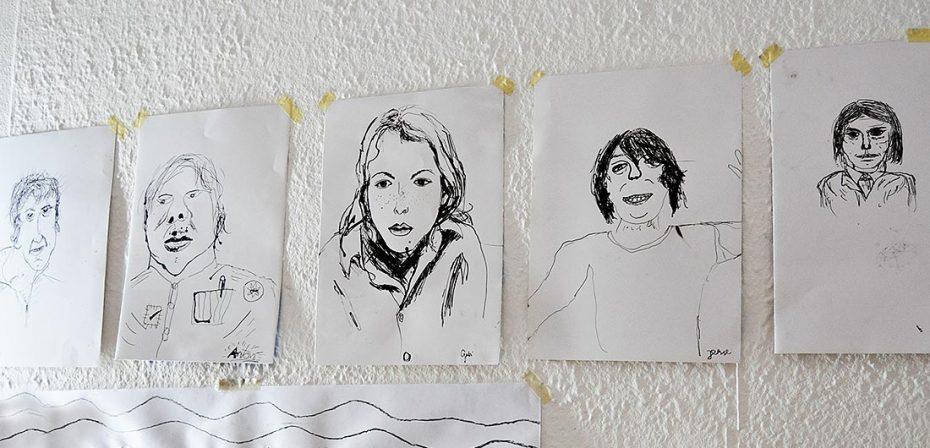 Porträtzeichnen und -malen